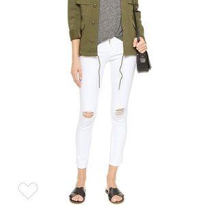 FRAME Denim Le Skinny De Jeanne White Jeans 29